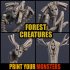 4 FOREST CREATURES image