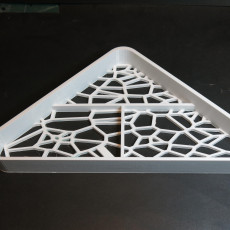 Parametric shower tray