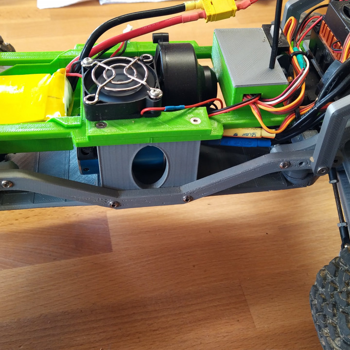 Alternative gearbox for MyRCCar 1/10 MTC Chassis Updated