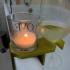 Bathtub wine holder (ikea glass candle) image