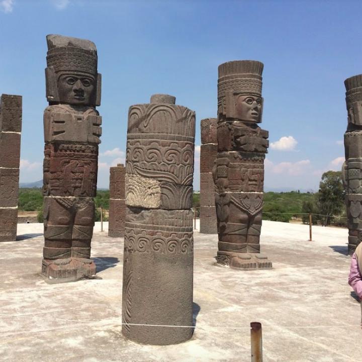 Atlante of Tula - Mexico