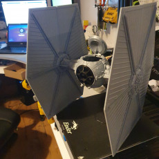 Picture of print of TIE FIGHTER