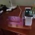 Soporte al escritorio de Iphone Xr y SmartWatch image