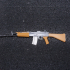 INSAS Rifle - scale 1/4 image