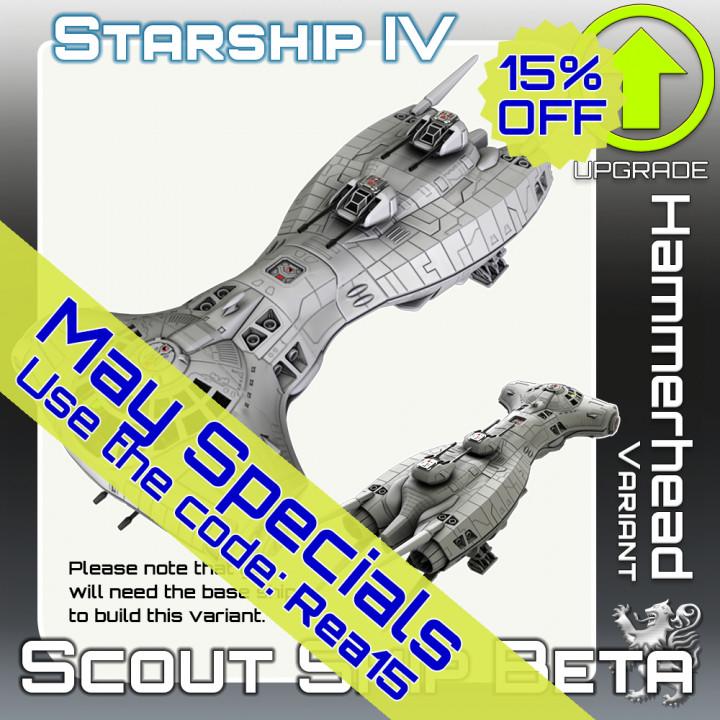 Scout Ship Beta Hammerhead Variant Upgrade