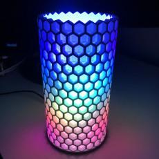 Honeycomb NeoPixel Lamp