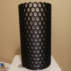 Picture of print of Honeycomb NeoPixel Lamp