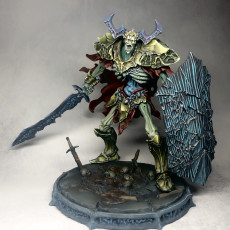Picture of print of Undead Knight