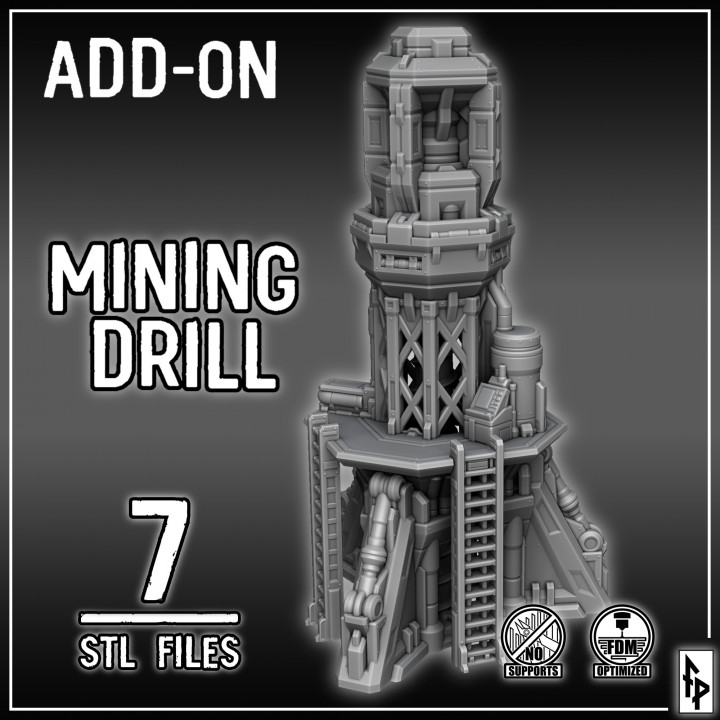 Mining Drill's Cover