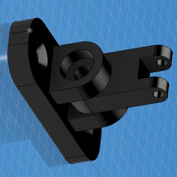 Logitech C270 webcam mount for Stuva