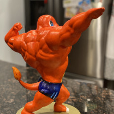 Picture of print of Ultra swole Charmander