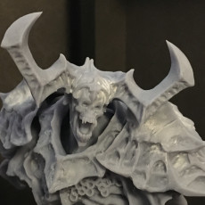 Picture of print of Undead Knight Bust