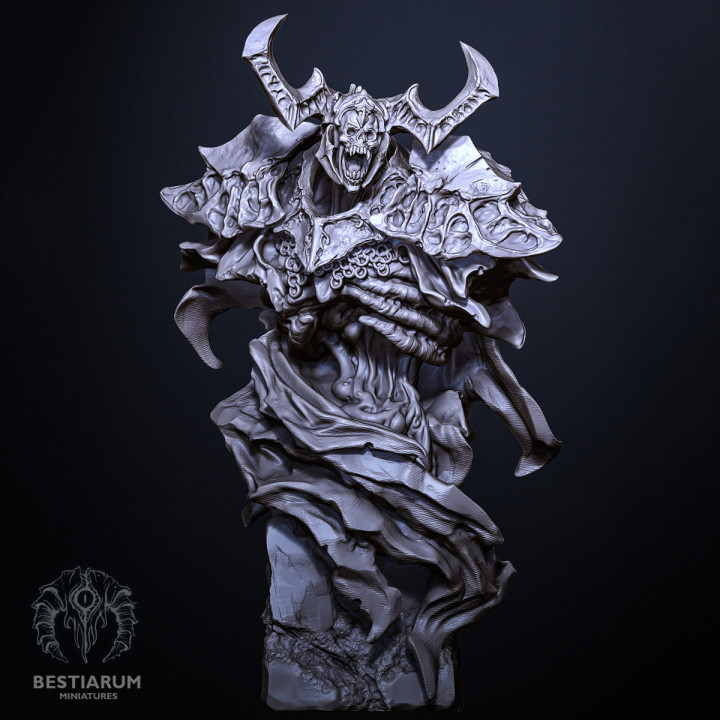 Undead Knight Bust