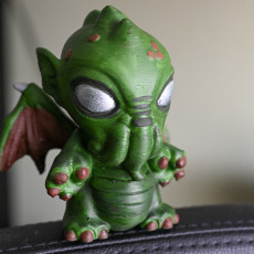Picture of print of Baby Cthulhu