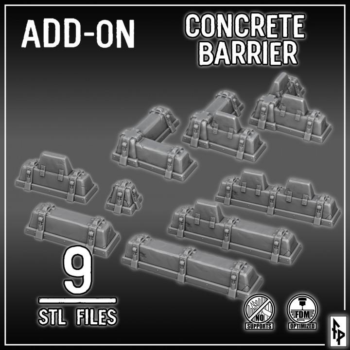 Concrete Barrier's Cover