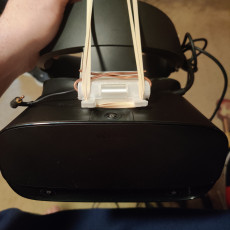 Picture of print of Oculus Rift S Flip Mount Adapter