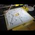 Origami Folding Lamp Shade image