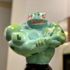 Picture of print of Ultra swole Bulbasaur