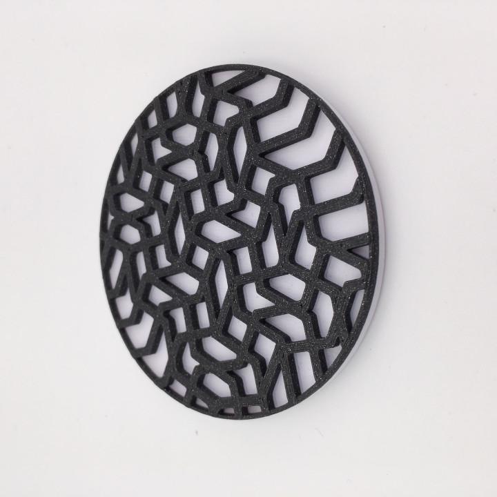 3D printed coaster