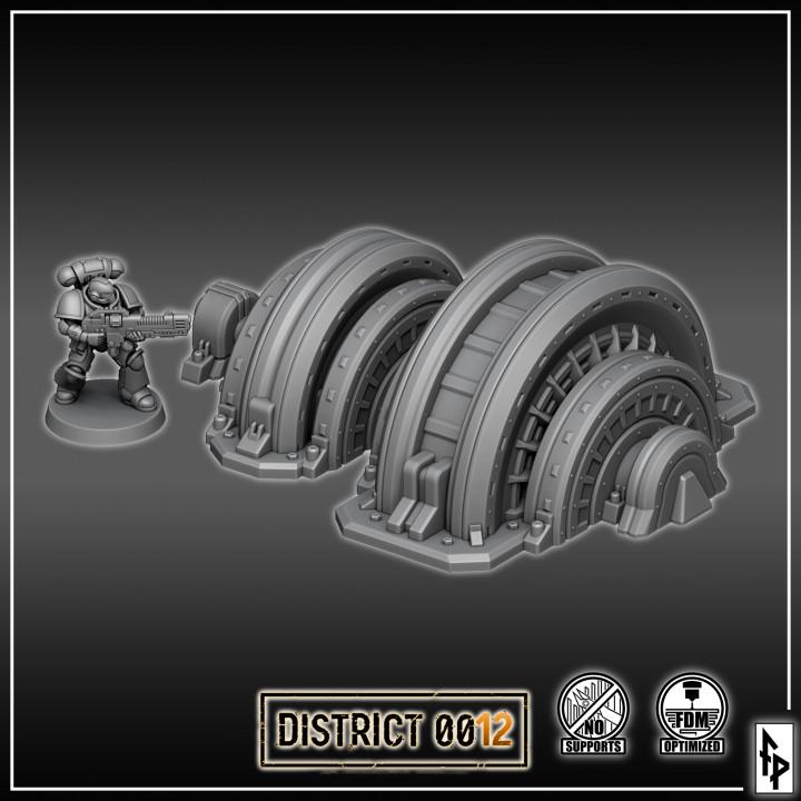 Steam Turbine's Cover