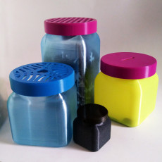 Container + Lids