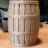 Wooden Barrel for Jar or Bank image