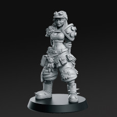 Junkgirl - From Wasteland - 32mm - DnD -