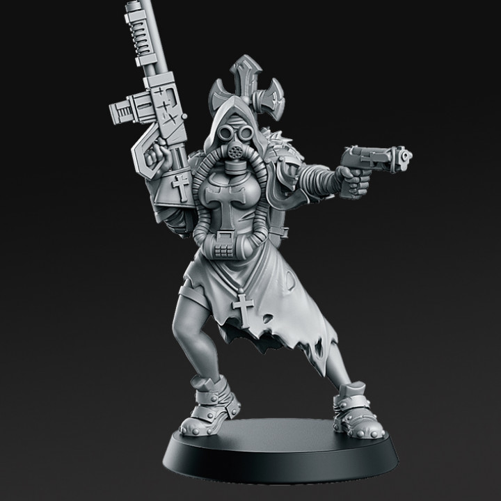 New Faith- From Wasteland - 32mm - DnD -