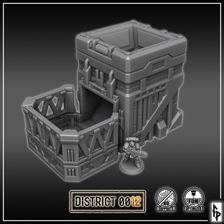 District 0012 Dice Tower's Cover