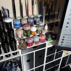 Paint Station Starter Set with UV curing station