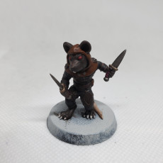 Picture of print of Ratfolk Assassin