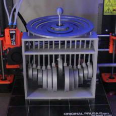 Mechanical waterdroplet