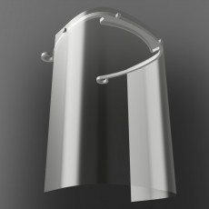 230x230 render 1 adapted face shield by 3dverkstan