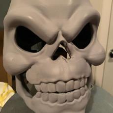Picture of print of Skeletor Mask He-Man Costume Cosplay Helmet 3D Print File