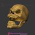 Skeletor Mask He-Man Costume Cosplay Helmet 3D Print File image