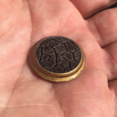 25mm Stone Miniature Base for 28mm Tabletop Games