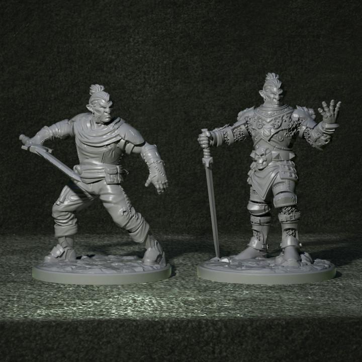 Hobgoblin Swordsman 1's Cover