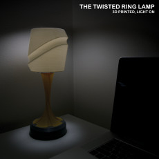 The Twisted Ring Lamp