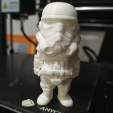 Picture of print of mini stormtrooper