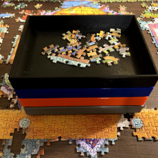 Stacking Tray for Puzzles