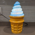 Soft Serve Ice Cream Mood Lamp image