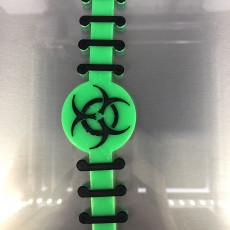 Picture of print of COVID19 Bio Strap Helper