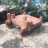 Wood and Stone Dock for 28 mm tabletop games image