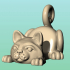 Cat phone stand image