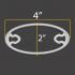 Ear Saver - Oval Design image