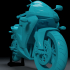 Motorcycle 600 RR 2004 3D MODEL FOR PRINT image