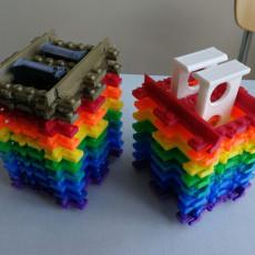 Lego Train Tracks Organizer