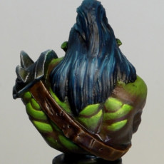 Picture of print of Scarred Orc