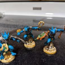 Picture of print of Death-Tide Jurakins - 6 Modular + 2 Heroes