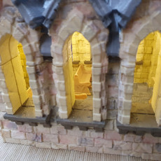 Picture of print of Dark Realms Fantasy Scenery - Chapel